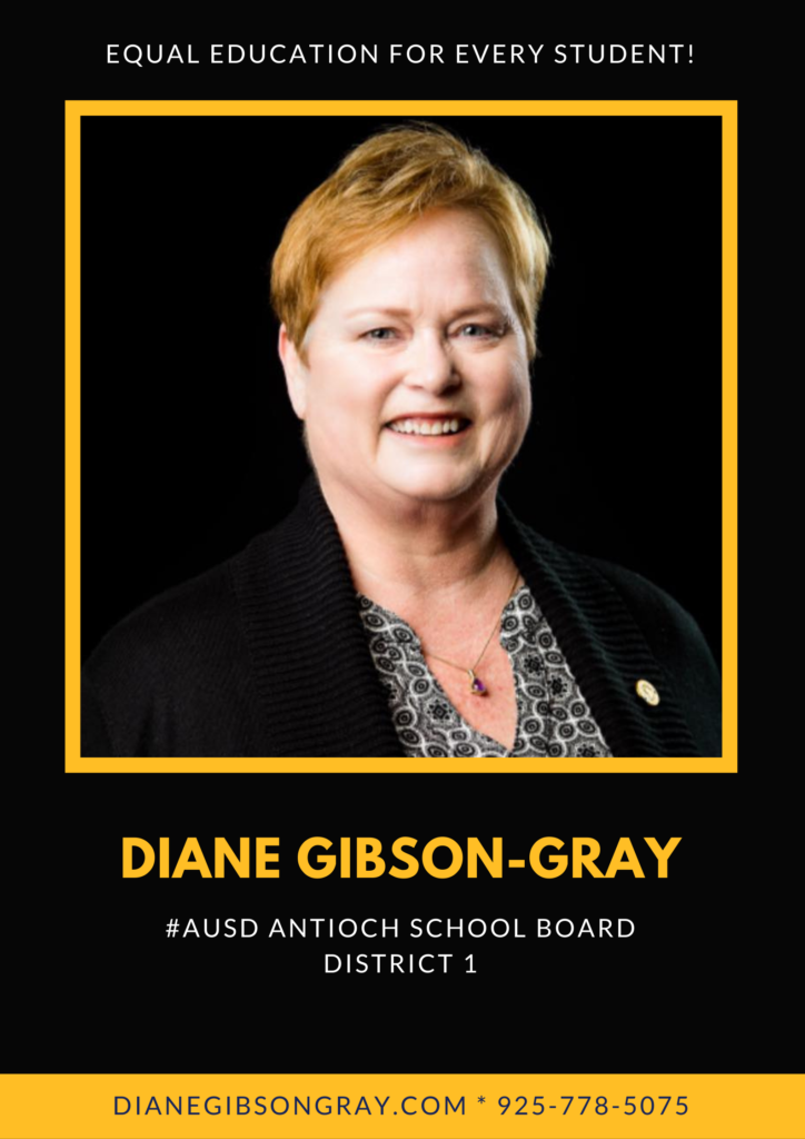 Diane Gibson Gray Antioch School Board